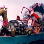 """1983 Mi-Carême / Carnaval de Cholet """"Le Lièvre et la Tortue"""""""