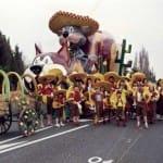 """1984 Mi-Carême / Carnaval de Cholet """"La Traversée du Mexique"""""""