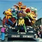 1990 Carnaval de Cholet Escalier Sentiments