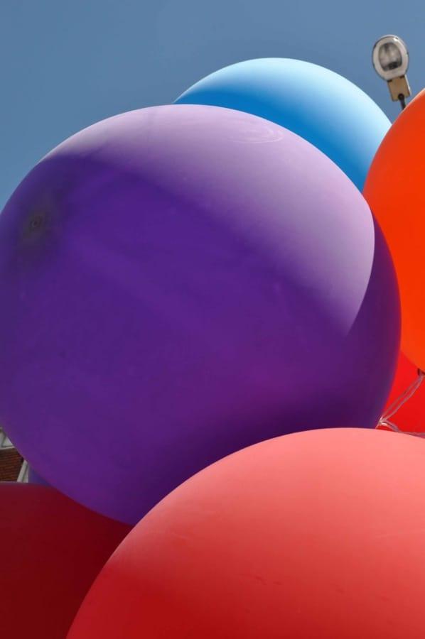 Sphères colorées