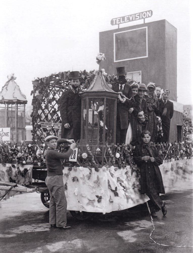 1938 La Campagne se modernise Carnaval de Cholet