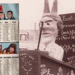 1964 À l'École des Carnavaliers de Cholet