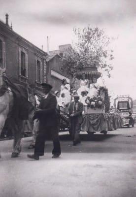 Mi-Carême Cholet - Reines 1946
