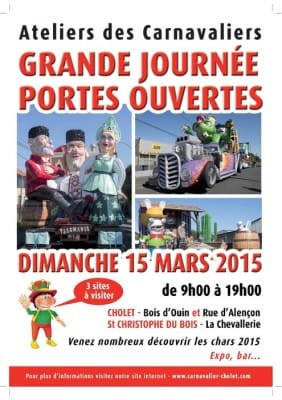 Portes Ouvertes 2015 Carnavaliers de Cholet