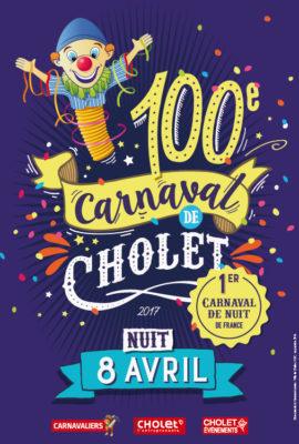 100e carnaval de Cholet nuit