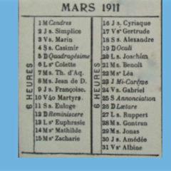 1911 Les «mariées» de l'an 11