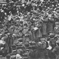1912 – La musique militaire du 77e Régiment d'Infanterie