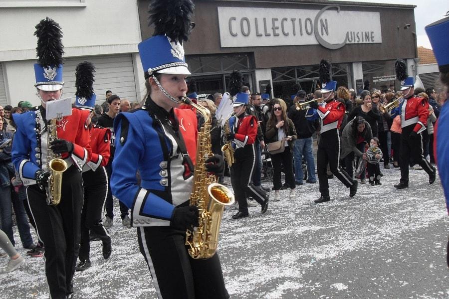 Des musiques militaires aux marching-bands