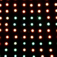 Défilé des LEDs ou des fils et des LEDs
