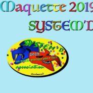 Maquette pour 2019 – Étape 2