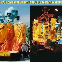 1995 1996 Cholet : Carnavals gratuits