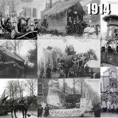 1914 Les ultimes réjouissances à Cholet