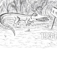 1934 Le Crocodile de la Moine