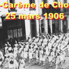 1906 Le défilé des Zouaves