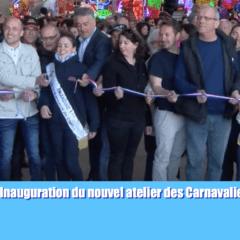 2017 Inauguration du nouvel atelier des carnavaliers de Cholet