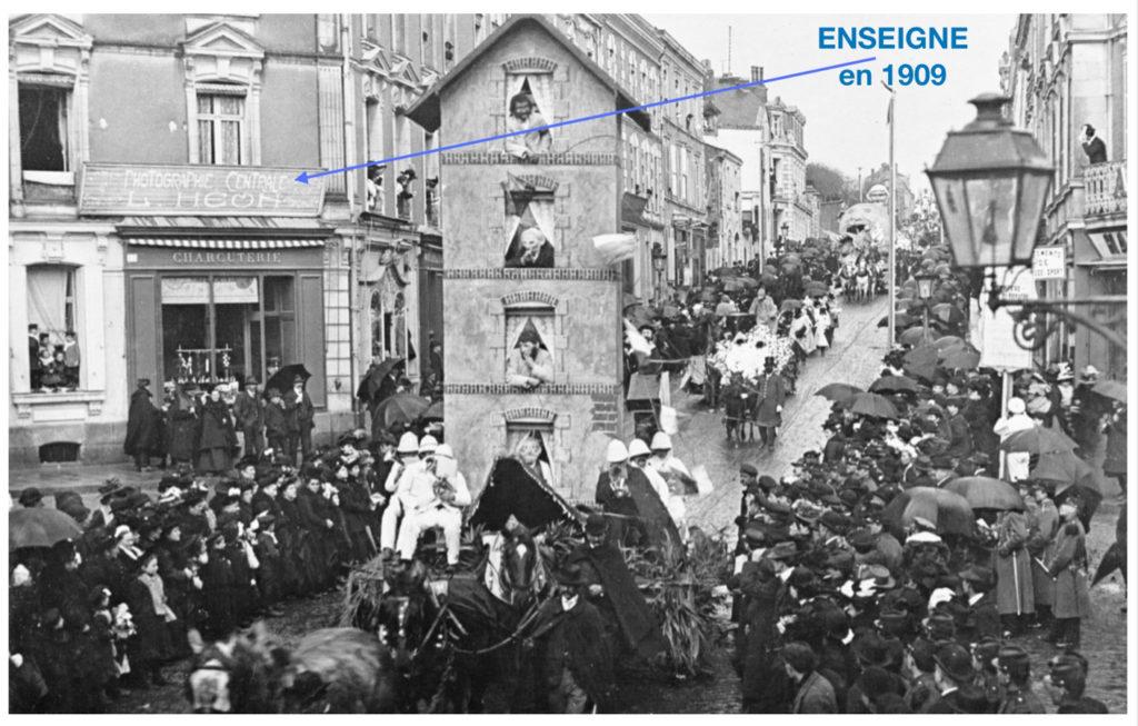 1909 1911 Un photographe célèbre à Cholet