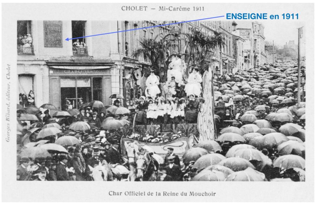 Un photographe célèbre à Cholet au début du XXe siècle.