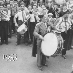 1953 Des Sacs-à-vin de Cholet aux Gondoliers de Saumur