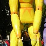 Pantin Géant System'D Carnavaliers Cholet