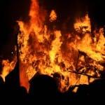 Carnaval Cholet 2010 Grand feu final du char des Copains d'Abord... 53