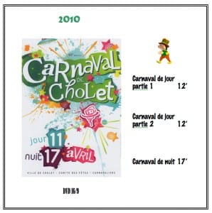 DVD Carnaval Cholet