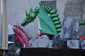 System'D dragons au repos.