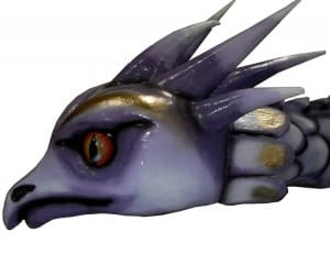 Dragon avant System'D Carnaval Cholet. 6temdassos.fr