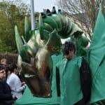 Systèm'D D Dragon vert. Location accessoires. 6temdassos.fr 25