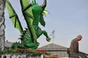 System'D Patrick au volant Carnaval Cholet. 6temdassos.fr